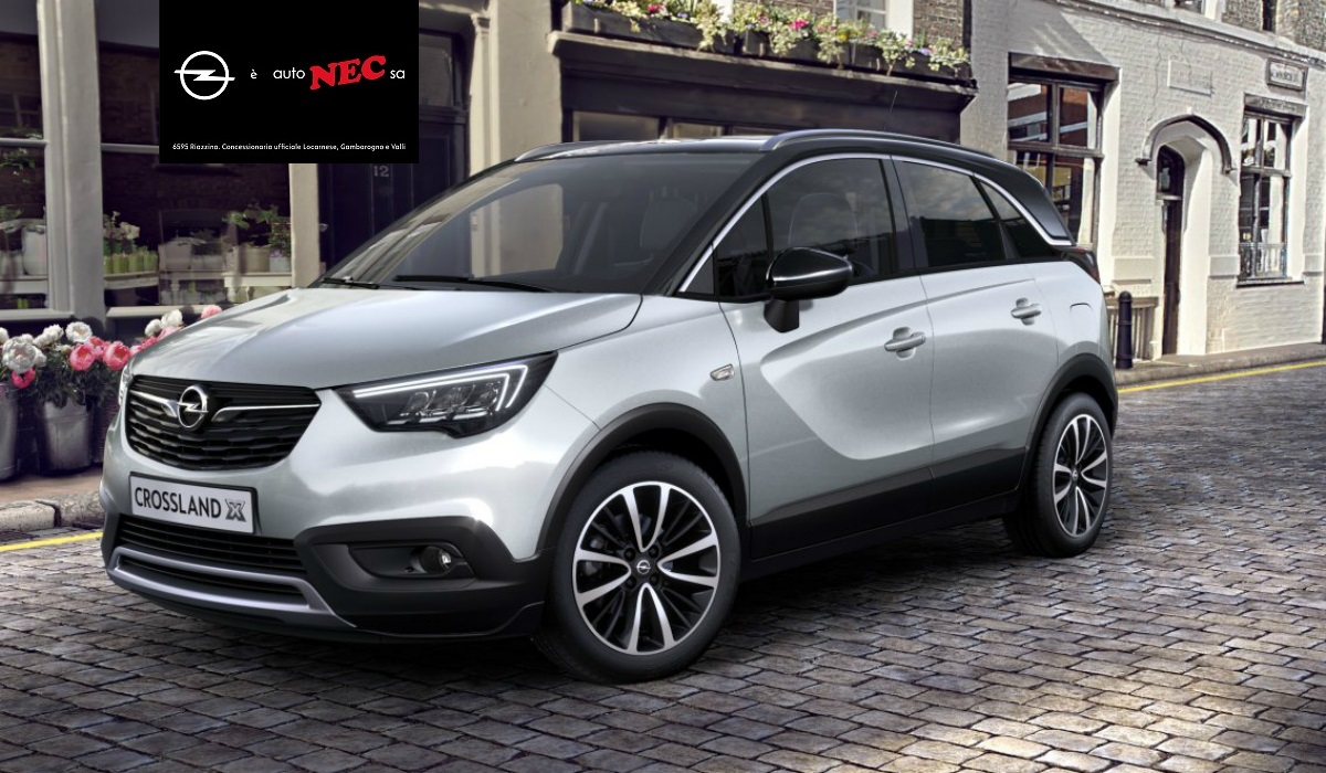 opel crossland x scopri da autonec sa il crossover versatile promoweb visibilit e web marketing. Black Bedroom Furniture Sets. Home Design Ideas